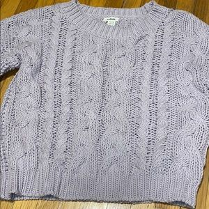 Cute purple sweater